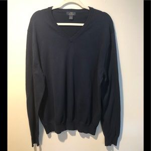 Brooks Brothers V neck sweater Navy XL